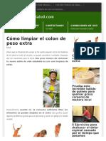 Salud Colon Limpieza