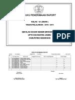 02 Buku Penerimaan Raport