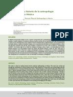 Antropologia Forense Historia en Mexico