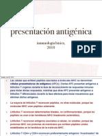 Proceso y Present Ag 2010