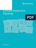 Content Production Planing