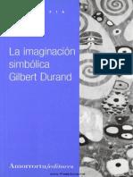 La Imaginación Simbolica Gilbert Durand