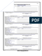 Formulir Penerima Manfaat Pembayaran Klaim (Form 6 c)