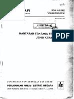 Spln 41-5-1981 Hantaran Cu Telanjang Jenis Keras (Bcc h)