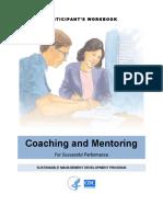 Coach Mentor Participant Guide