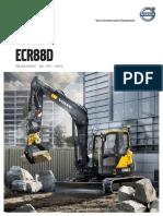 Brochure Minipelle Volvo ECR88D | SOFEMAT