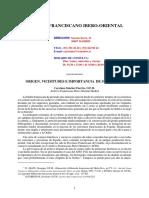 Archivio Franciscano en Espana