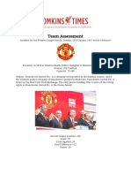 Final Draft | Team Report Man Utd