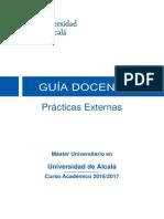 201656 Prácticas Externas 16 17