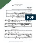 Ich Liebe Dich - Edvard Grieg, Vocal Score Soprano