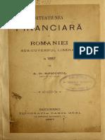 Situatiunea Finanra a Romaniei
