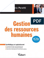 Peretti, Jean-Marie-Gestion Des Ressources Humaines-Vuibert (2016)