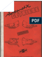 Used]atsg th700-r4 repair manual be forward auto parts.