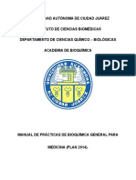 Manual 2014 Bioquimica General Medicina