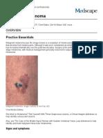 Malignant Melanoma_ Practice Essentials, Background, Etiology