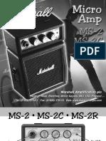 Marshall MS2 Handbook