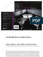 Muniesa, Millo, Callon (2007) - Market Devices