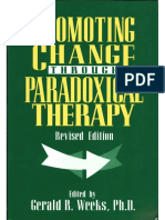 Promoting Change Through Paradoxical Therapy - Gerald Weeks