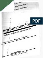 Van Eemeren Frans H - Argumentacion