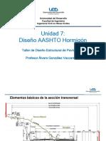 Unidad 07 AASHTO Hormigón 2016