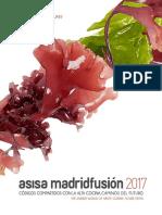 Programa Madrid Fusion 2017