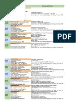 Test Series Schedule
