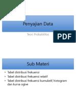 2, 3 Teori Probabilitas - Penyajian Data