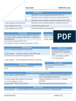 Juniper Cheat Sheet