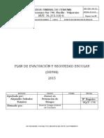 Pln 001 Plan de Evacuacion Y Seguridad Escolar Umbral Curauma
