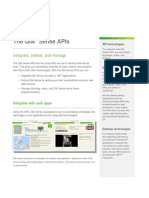 Data Sheet- Qlik Sense Integration Overview- APIs