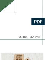 Meredith Vlahakis Portfolio