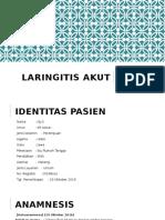 Lapsus Laryngitis Akut