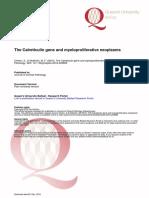 The Calreticulin Gene and Myeloproliferative Neoplasms