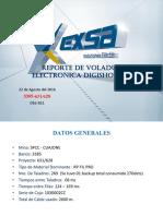 3385-631-628 Reporte de Voladura