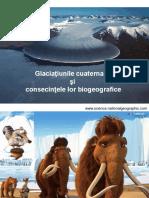 Glaciaţiunile cuaternare
