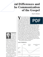 Paul G. Hiebert Cultural Differences and the Communication of the Gospel