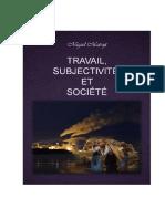 Matraj - Travail, Subjetivité Et Societé
