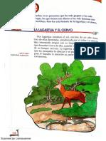 La Lagartija y El Ciervo. Lecturas Primaria