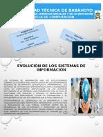 Evolucion de Sistema de Informacion