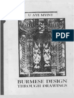 Burmese Design Through Drawings