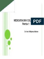 Medicatia Snv Colinergic - Partea 1