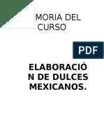 Dulces Mexicanos Taller