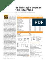 CONSTR0E Protótipo de Habitação Popular de Drywall Em São Paulo