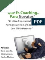 Que Es Coaching Para Novatos