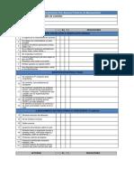 WEB Checklist Bpms