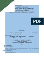 Laporan Sistem Pengapian Elektronik