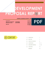 Urban Design? DPR Report?