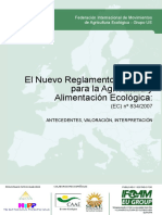Ifoameu Reg Organic Regulation Dossier 2009 Es
