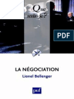 La Negociation - Bellenger Lionel