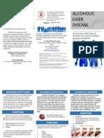 alcoholic liver disease brochure